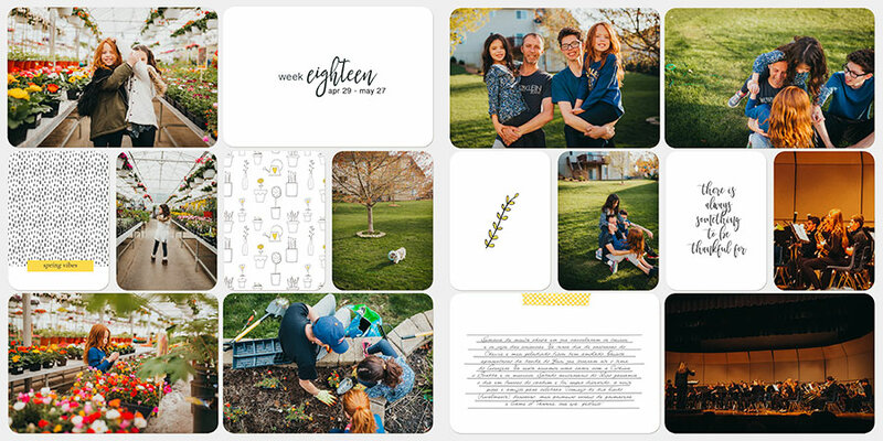 Project Life 2019 | Week 18