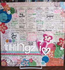 {101 things i heart}