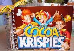 {cocoa krispies notebook}