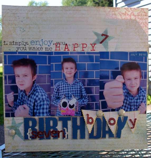 birthday boy *Kreatorville Kraft*