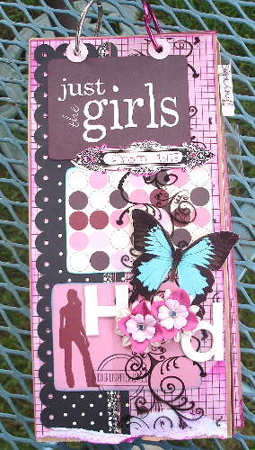 {just the girlz from the Hood} Circle Journal