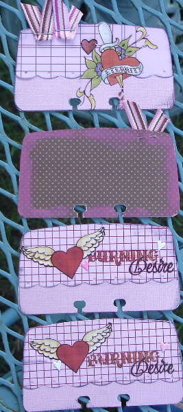 lovey dovey)rolodex cards