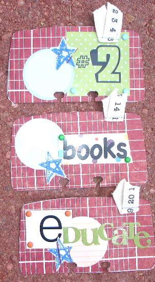 (school) rolodex cards