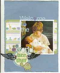 {welcome to the world}