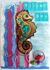 Jeweled Seahorse ATC