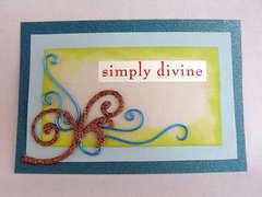 Simply Divine Card
