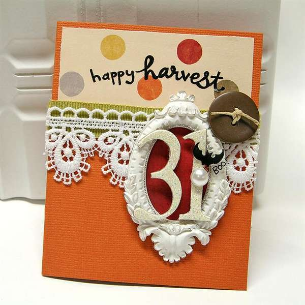 Happy Harvest card *Melissa Frances*
