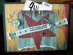 4 U Birthday card