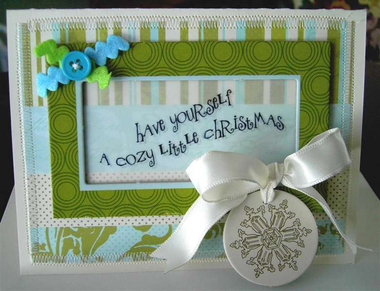 Cozy Little Christmas card *Paper Crafts Card Creations 6*