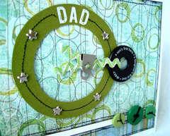 Dad card (up close)