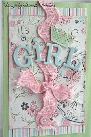 It's a Girl card *Cards Mag. July 2008*
