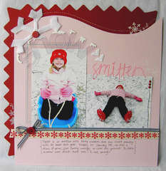 Snow Smitten *Scrapbook Trends-Dec. 2008*