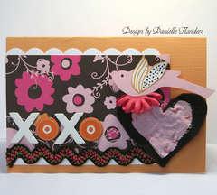 XOXO card