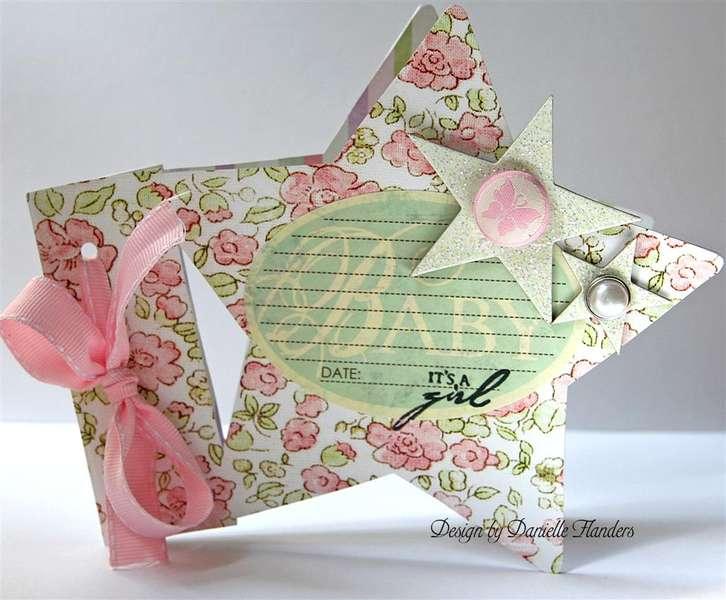 It's a Girl card *Melissa Frances*