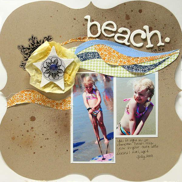 Beach Babe *new Tattered Angels*