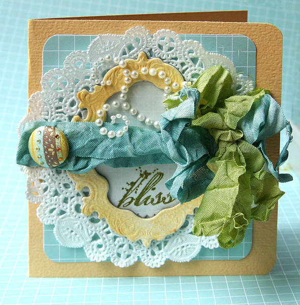 Bliss card *Tattered Angels*
