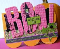 Boo! card