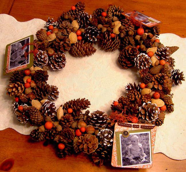 Fall Photo Wreath