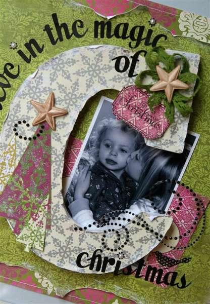 Believe in the Magic frame *Pink Paislee*