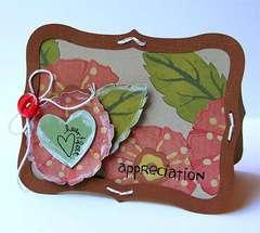Heartfelt Appreciation card