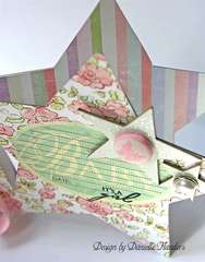 It's a Girl card - inside *Melissa Frances*