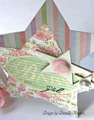 It's a Girl card - inside *Melissa Frances*
