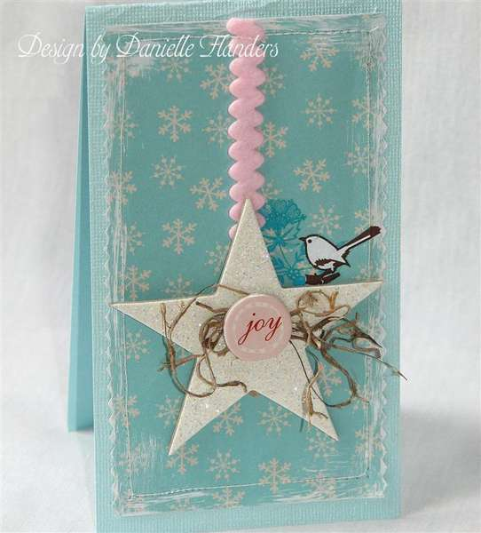 Joy card *Paper Crafts, Holiday Cards and More 2008*