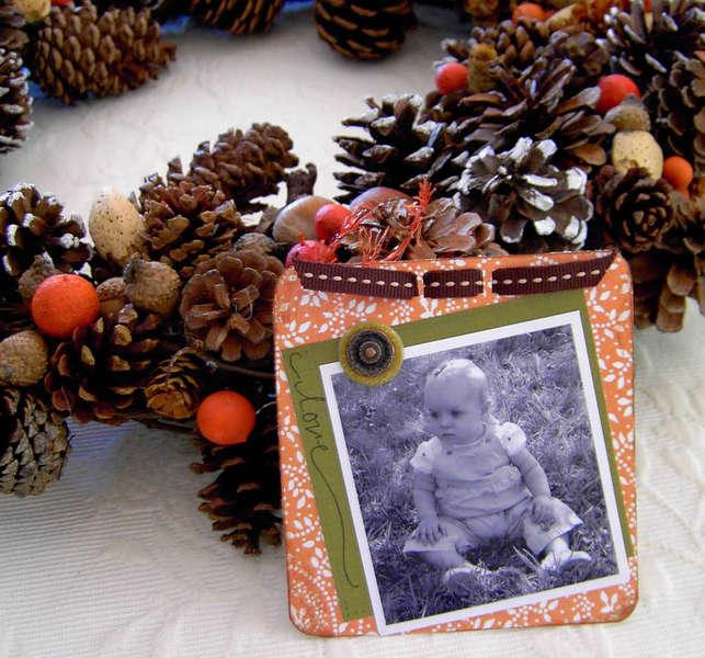 Fall Photo Wreath-Kati