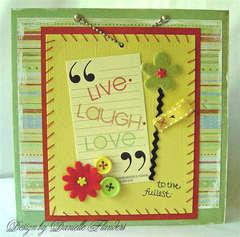 Live.Laugh.Love card