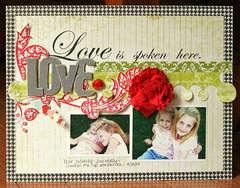 Love is Spoken Here *Pink Paislee*