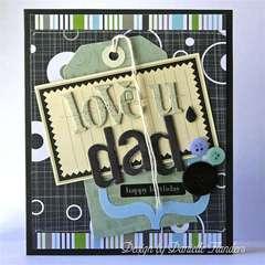 Love U Dad card
