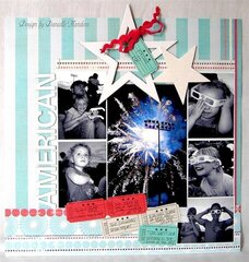 Proud to be American *Scrapbook Trends, July 2008*