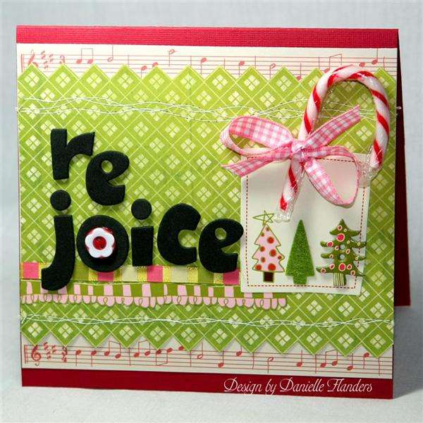 Rejoice card *Paper Crafts, Holiday Cards and More 2008*