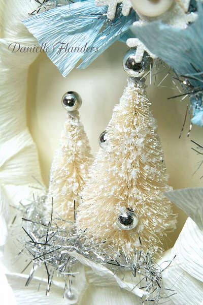 Holiday Wreath - close up