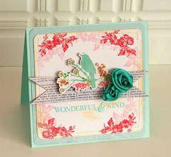 Wonderful & Kind card