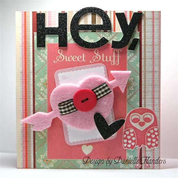 Hey, Sweet Stuff! card