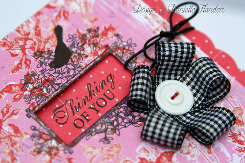 Thinking of You card *up close*