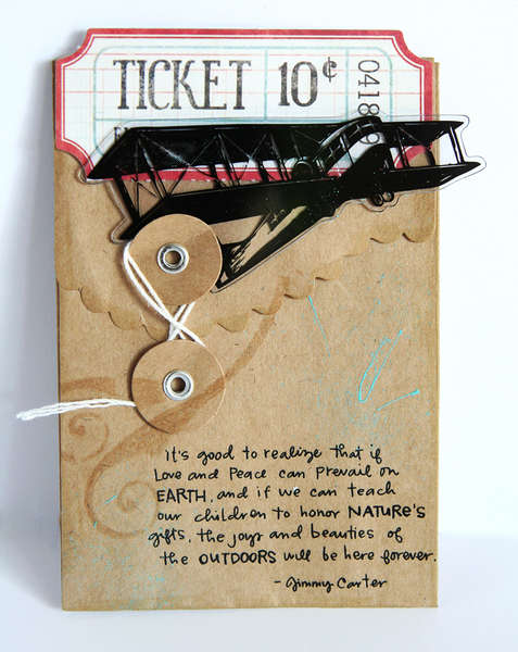 Ticket card *Tattered Angels*