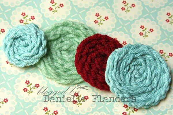 Faux Crocheted Flowers