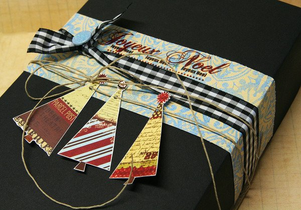 Quick, Simple Gift Wrap