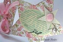 It's a Girl card - close up *Melissa Frances*