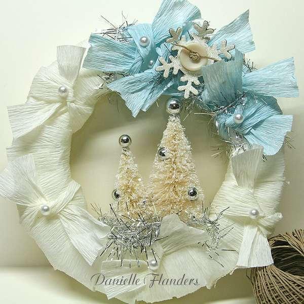 Holiday Wreath *Melissa Frances*