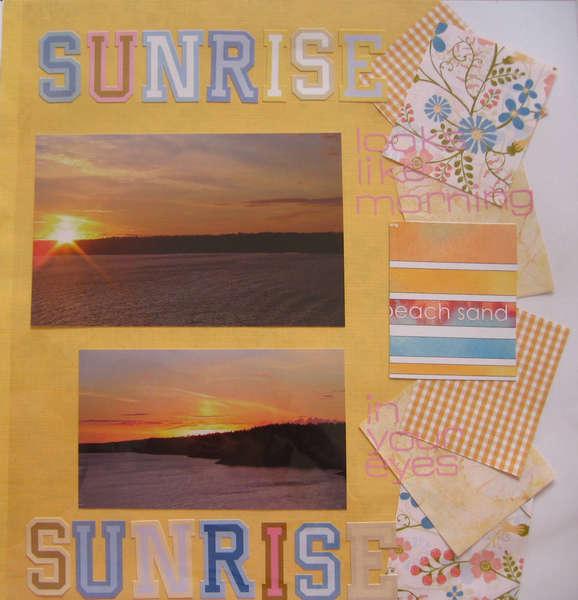 Sunrise on the Cruise 2