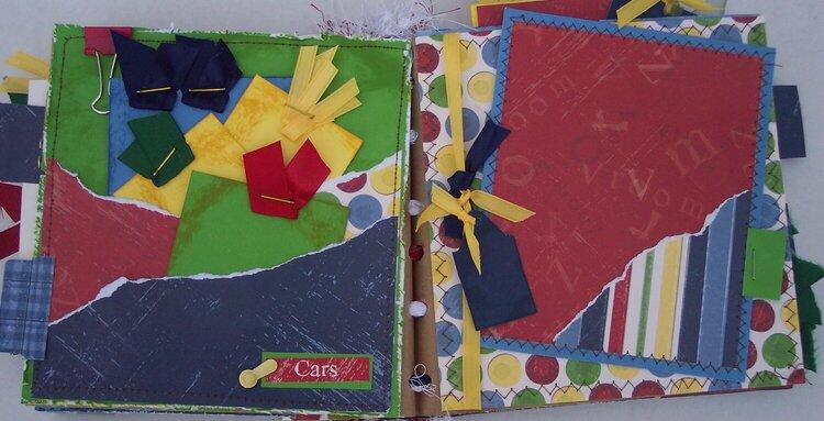 Boy / Cars Paper Bag Album *photo 3 of 3*