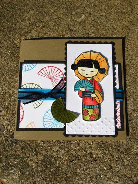 Japanese easel flat