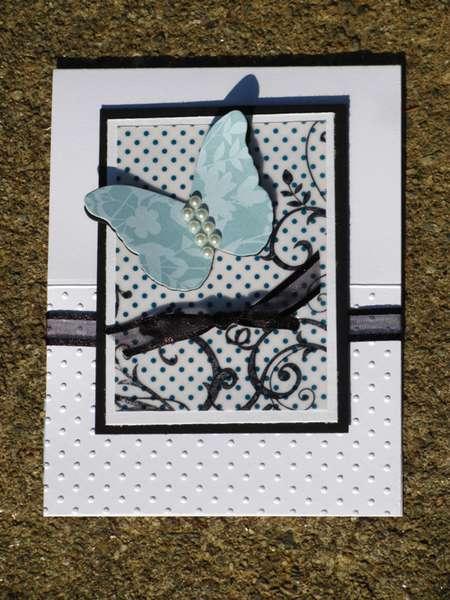 Butterfly easel flat