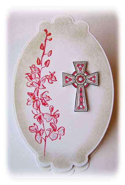 Pink cross 1