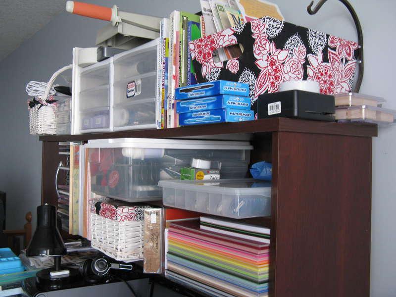 Hutch of computer desk