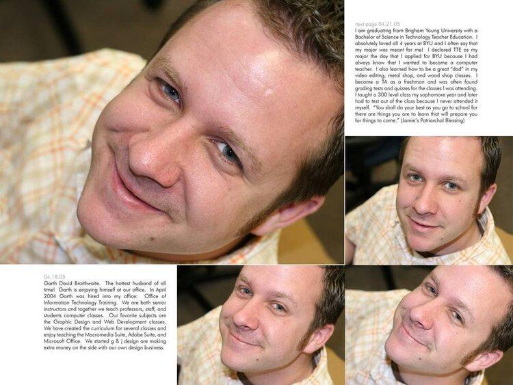 2005 Digital Scrapbook