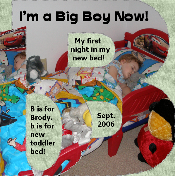 I'm a Big Boy Now!